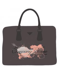 Girls Beautiful Dark Brown Purse Bag Cloth