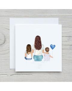 Birthday Family card custom