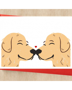 Personalized Dog Card